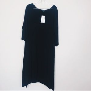 Eileen Fisher NEW with tags black dress 2X